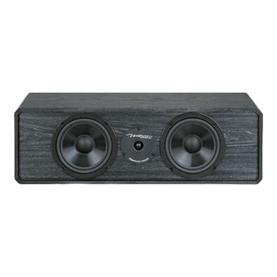 BIC America DV62CLR-S Venturi DV62CLR-S - Center channel speaker - 2-way - black