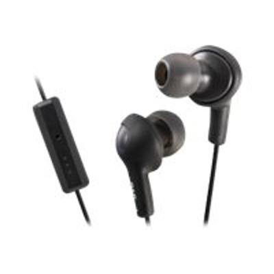 JVC HAFR6B HA-FR6 Gumy PLUS - Headset - in-ear - noise isolating - olive black