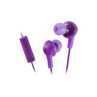 JVC HAFR6V HA-FR6 Gumy PLUS - Headset - in-ear - noise isolating - grape violet