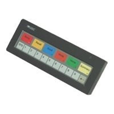 Logic Controls KB1700B-BK Controls KB 1700 Option B - Keypad - PS/2 - black
