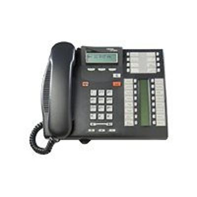 Avaya NT8B27JAMAE6 Business Series Terminal T7316E - Digital phone - multi-line operation - charcoal