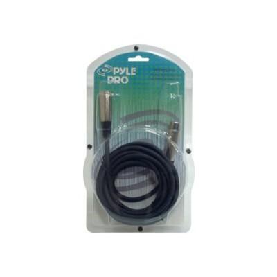 Pyle PPFMXLR15 pro FMXLR15 - Audio cable - XLR3 (M) to XLR3 (F) - 15 ft - black