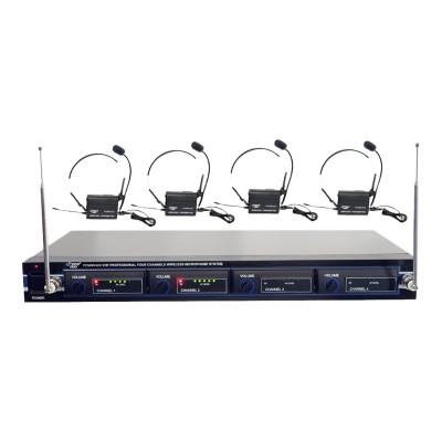 Pyle PDWM4400 Pro PDWM4400 - Microphone system - wireless - radio