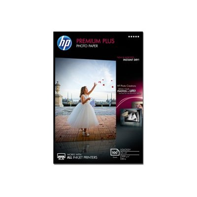 HP Inc. CR668A Premium Plus Glossy Photo Paper - 100 sheet / 4 x 6 in