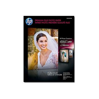 HP Inc. CR669A Premium Plus Glossy Photo Paper - 60 sheet / 5 x 7 in