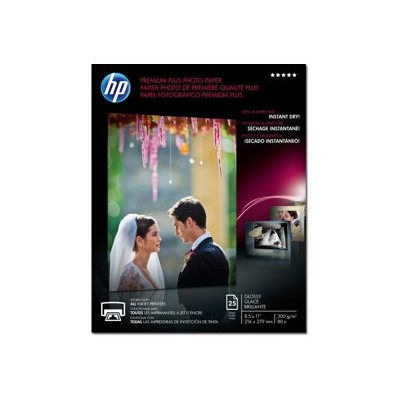 HP Inc. CR670A Premium Plus Glossy Photo Paper - 25 sheet / Letter / 8.5 x 11 in