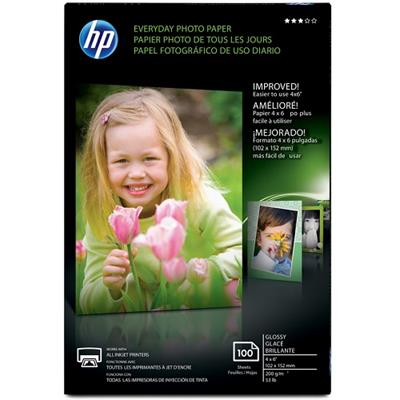 HP Inc. CR759A Everyday Glossy Photo Paper - 100 sheet ( 4 x 6 in )