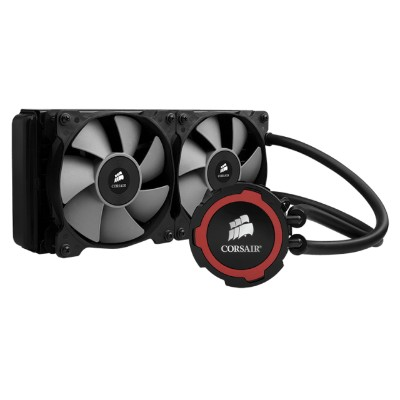 Corsair Memory CW-9060016-WW Hydro Series H105 240mm Extreme Performance Liquid CPU Cooler - Liquid cooling system - ( LGA1156 Socket  Socket AM2  LGA1366 Socke