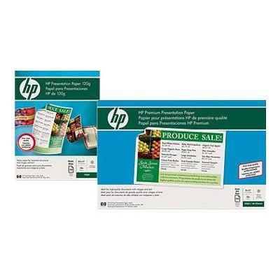 HP Inc. D0Z55A Premium Inkjet Matte Presentation Paper 120 gsm - 100 sheet / Letter / 8.5 x 11 in