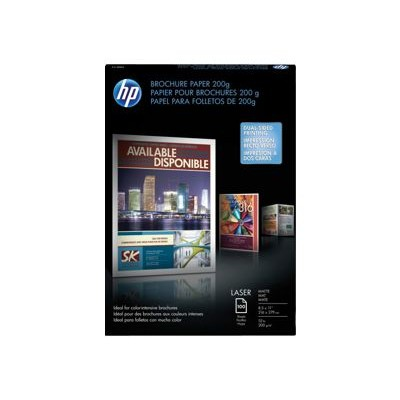 HP Inc. Q8824A Laser Matte Brochure Paper 200 gsm - 100 sheet/Letter/8.5 x 11 in