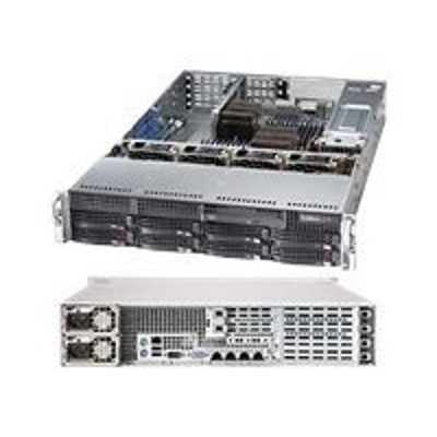 Super Micro AS 2022G URF4 Supermicro A Server 2022G URF4 Server rack mountable 2U 2 way RAM 0 MB SATA hot swap 3.5 no HDD DVD MGA G200eW