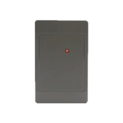 HID 5395CG100 ThinLine II 5395 - RF proximity reader - SIA 26-bit Wiegand - classic charcoal gray