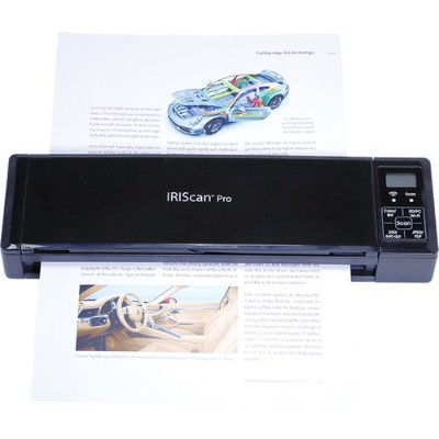Iris 458071 can can Pro 3 Wifi - Sheetfed scanner - 8.5 in x 11.7 in - 600 dpi - ADF (8 sheets) - USB 2.0  Wi-Fi(n)