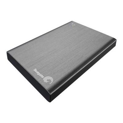 Seagate STCV2000100 Wireless Plus STCV2000100 - Network drive - 2 TB - HDD 2 TB x 1 - USB 3.0 / 802.11n