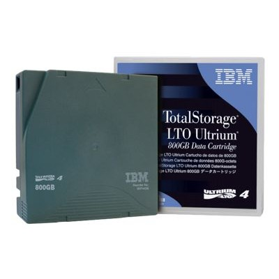 IBM 45E6716 TotalStorage - 20 x LTO Ultrium 4 - 800 GB / 1.6 TB - bar code labeled - green
