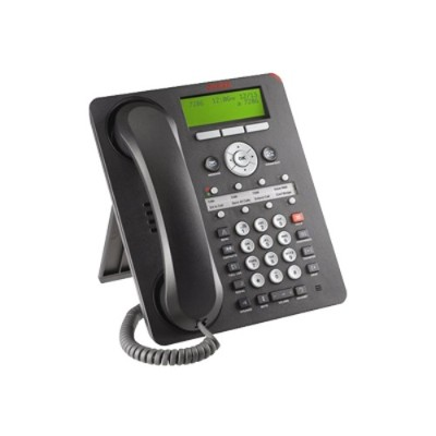 Avaya 700508260 one-X Deskphone Value Edition 1608-I - VoIP phone - H.323 - black