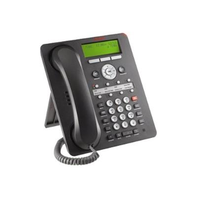 Avaya 700508260 one-X Deskphone Value Edition 1608-I - VoIP phone - H.323 - black
