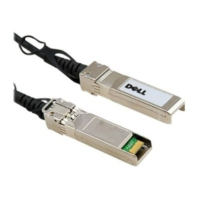 Dell 332-1666 10GbE Copper Twinax Direct Attach Cable - Network cable - SFP+ to SFP+ - 16.4 ft - for Networking N2024  N2048  N3024  N3048  N4032  N4064