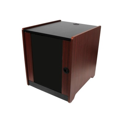 StarTech.com RKWOODCAB12 12U Office Server Cabinet w/ Wood Finish and Casters - Rack - wood - 12U