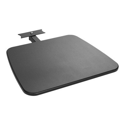 Atdec TH-TVS Telehook TH-TVS - Mounting component ( shelf plate ) - MDF  steel - dark gray - floor stand mountable