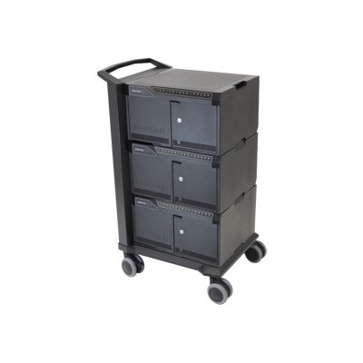 Tablet Management Cart 48 with ISI - cart