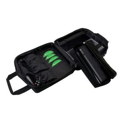 CTA Digital XB1-MFC Multi-Function - Carrying bag for game console - nylon  foam - for Xbox One
