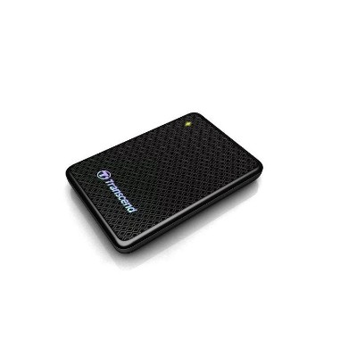 Transcend TS256GESD400K ESD400 - Solid state drive - 256 GB - external (portable) - USB 3.0