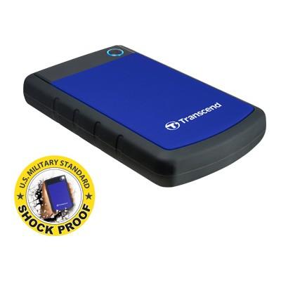 Transcend TS1TSJ25H3B Storejet 1TB Portable USB 3.0 Hard Disk