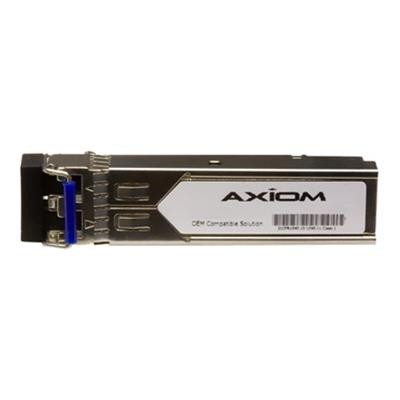 Axiom Memory MGBIC-BX40-D-AX SFP (mini-GBIC) transceiver module (equivalent to: Extreme MGBIC-BX40-D) - Gigabit Ethernet - 1000Base-BX-D - LC single-mode - up t