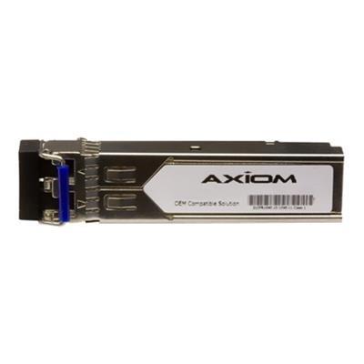Axiom Memory MGBIC-BX40-U-AX SFP (mini-GBIC) transceiver module (equivalent to: Extreme MGBIC-BX40-U) - Gigabit Ethernet - 1000Base-BX-U - LC single-mode - up t