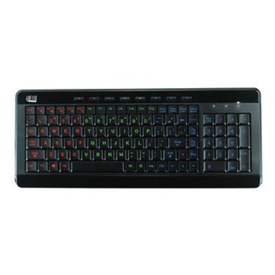 Adesso AKB-120EB SlimTouch 120 - Keyboard - USB - black
