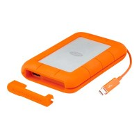 LaCie 1TB Rugged V2 Thunderbolt - USB 3.0 - Professional All-Terrain Storage With Integrated Thunderbolt Cable