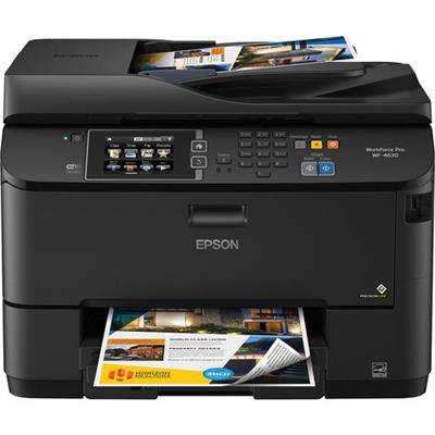 Epson C11CD10201 WorkForce Pro WF-4630 - Multifunction printer - color - ink-jet - A4/Legal (media) - up to 19 ppm (copying) - up to 20 ppm (printing) - 330 she