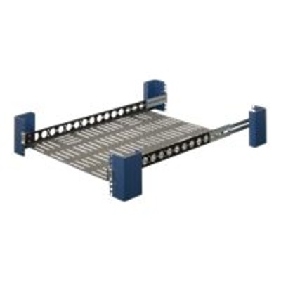 Innovation First 108-4013 RackSolutions - Rack shelf - black - 1U - 19