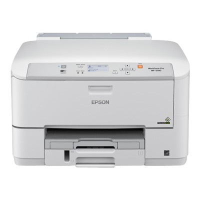 Epson C11CD15201 WorkForce Pro WF-5190 - Printer - color - ink-jet - A4/Legal - capacity: 330 sheets - USB 2.0  Gigabit LAN  Wi-Fi(n)