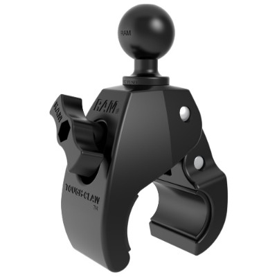 "Ram Mount Small Tough-Claw With 1"" Rubber Ball RAP-B-400U"