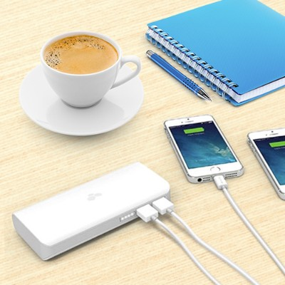 Kanex Kby10 Gopower Pack - Power Bank Li-ion 6000 Mah - 2.1 A - 2 Output Connectors ( Usb (power Only) ) - On Cable: Micro-usb