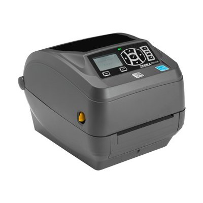 Zebra Tech ZD50043-T21200FZ ZD500 - Label printer - DT/TT - Roll (4.25 in) - 300 dpi - up to 240.9 inch/min - parallel  USB 2.0  LAN  serial - cutter