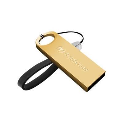 Transcend TS16GJF520G 16GB JetFlash 520 USB  Gold Plating