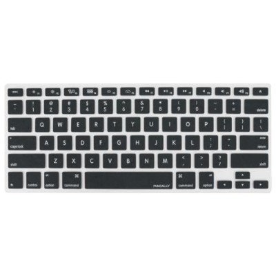 MacAlly Peripherals KBGUARDB Protective Cover in Black For Macbook Pro  Macbook Air and most Mac Keyboards