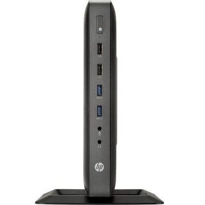 HP Inc. G4V27UT#ABA Smart Buy t620 AMD GX-415GA Quad-Core APU 1.50GHz Flexible Thin Client - 4GB RAM  16GB MLC mSATA SSD  Gigabit Ethernet