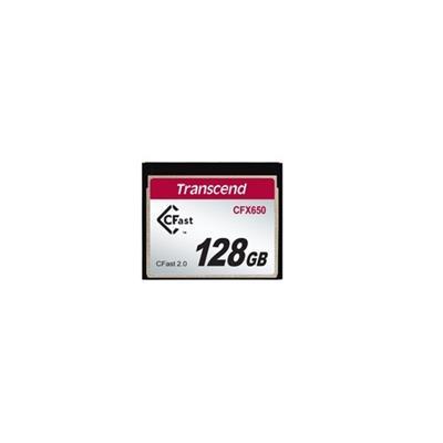 Transcend TS128GCFX650 128GB  CFast2.0  SATA3  Turbo MLC