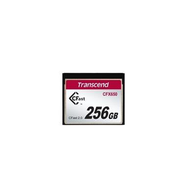 Transcend TS256GCFX650 256GB  CFast2.0  SATA3  Turbo MLC