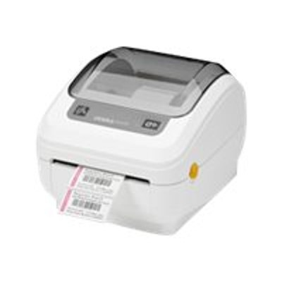 Zebra Tech GK4H-102210-000 GK Series GK420t - Healthcare - label printer - thermal transfer - Roll (4.25 in) - 203 dpi - up to 300 inch/min - USB  LAN - tear ba