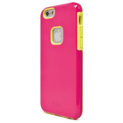 iLuv Creative Technology AI6REGAPN Regatta Dual-layer Case for iPhone 6s & 6 (4.7) - Pink