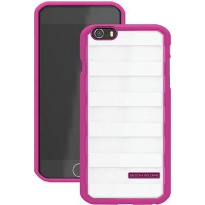 Fellowes 9449301 Rise Case For The Iphone 6 - Raspberry/white Gold Glitter