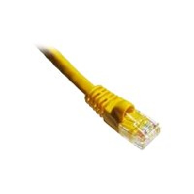 Axiom Memory C5EMB-Y14-AX Patch cable - RJ-45 (M) to RJ-45 (M) - 14 ft - UTP - CAT 5e - molded  snagless  stranded - yellow