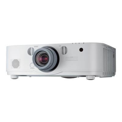 NEC Displays NP-PA672W PA672W - LCD projector - 3D - 6700 lumens - WXGA (1280 x 800) - 16:10 - HD 720p - no lens - LAN