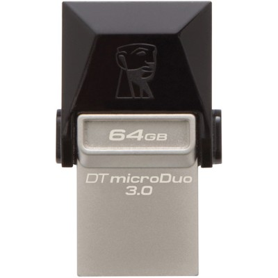 Kingston Digital DTDUO3/64GB 64GB DT microDuo USB 3.0/ micro USB OTG
