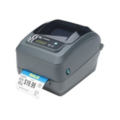 Zebra Tech GX42-202411-150 GX Series GX420t - Label printer - DT/TT - Roll (4.25 in) - 203 dpi - up to 359.1 inch/min - USB  LAN  serial - peeler